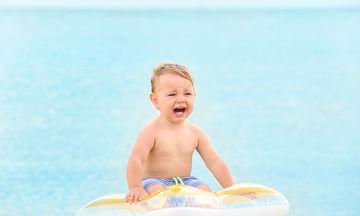 Το παιδί μου αρνείται να κολυμπήσει στη θάλασσα, τι να κάνω;
