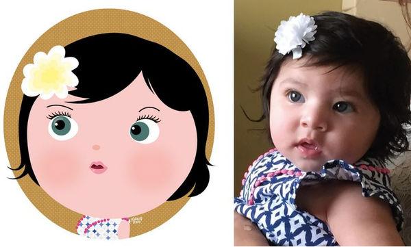 Φωτογραφίες παιδιών μετατρέπονται σε πανέμορφα σκίτσα που θα σας καταπλήξουν! (pics)