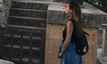 Δέσποινα Βανδή: Η σπάνια φωτογραφία με την κόρη της και οι διακοπές στην Κνωσό