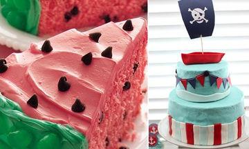 Εικοσιπέντε σχέδια για καλοκαιρινές τούρτες γενεθλίων (pics)