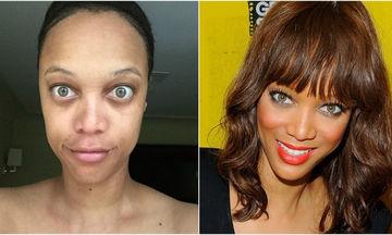 Αγνώριστες! Δείτε πώς είναι 20 διάσημες γυναίκες χωρίς μακιγιάζ (pics)