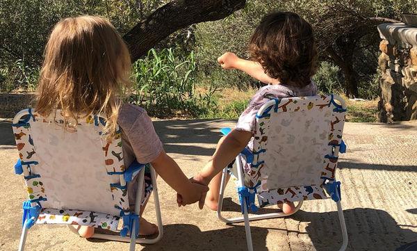 Ειρήνη και Άγγελος Τότσικας: Αγαπημένα αδελφάκια