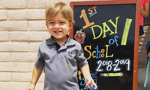 Back to school: Παιδιά διάσημων που θα πάνε για πρώτη φορά στο σχολείο (pics)