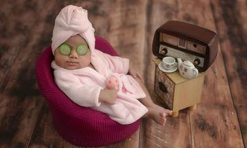 Oι πιο αστείες φωτογραφίες νεογέννητων που θα σας φτιάξουν τη διάθεση (pics)