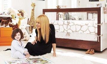 Βρεφικά δωμάτια: Διάσημες μαμάδες φωτογραφίζουν τα δωμάτια των παιδιών τους (pics)