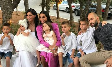 Χοψονίδου-Σπανούλης: Βάφτισαν το πέμπτο τους παιδί με νονά τη Βαλέρια