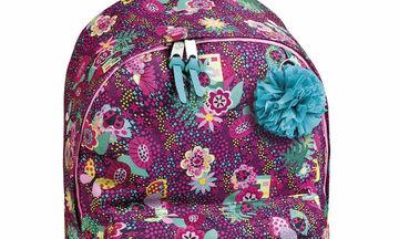 """Σχολικό σακίδιο πλάτης """"Garden""""  για μεγάλα κορίτσια"""