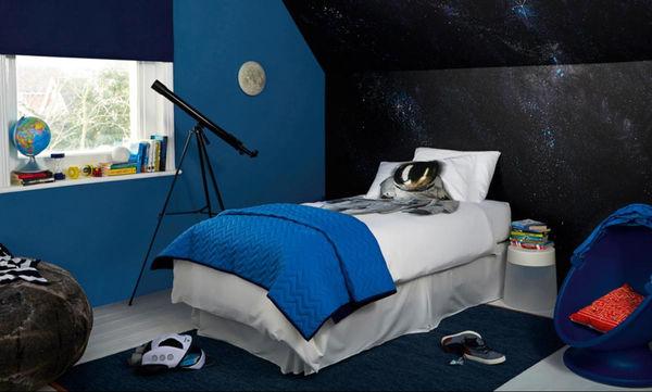 Κάντε το παιδικό δωμάτιο να μοιάζει με διαστημόπλοιο (vid)