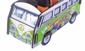 Μολυβοθήκη «λεωφορείο των Χίπις» για μικρά και μεγάλα παιδιά