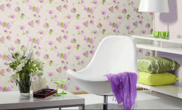 Ανανεώστε το σαλόνι σας βάζοντας δημιουργικές ταπετσαρίες (vid)
