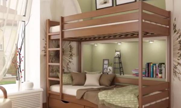 Θέλετε να βάλετε 2 κρεβάτια σε 1 παιδικό δωμάτιο; Πάρτε ιδέες για πανέμορφες κουκέτες (vid)