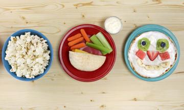 Τέσσερα σνακ για παιδιά, έτοιμα στο πι και φι (video)