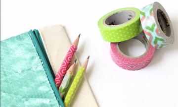 Back to school DIY: Ιδέες για τις πιο δημιουργικές χειροτεχνίες με σχολικά είδη (vid)