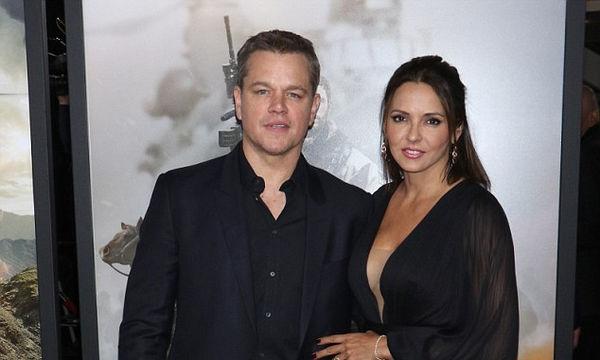Matt Damon: Οι κόρες του μεγάλωσαν και του μοιάζουν πολύ (pics)