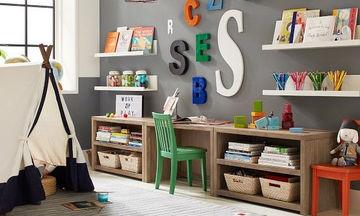 Παιδική βιβλιοθήκη: Είκοσι έξυπνες και πρακτικές ιδέες (pics)