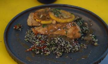 Συνταγή για πεντανόστιμο κοτόπουλο λεμονάτο