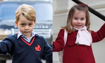 Γιατί δεν είδαμε φέτος back to school φωτογραφίες του πρίγκιπα και της πριγκίπισσας;