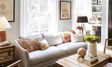 Τριάντα όμορφες ιδέες για να ανανεώσετε το καθιστικό σας τώρα το φθινόπωρο (pics)