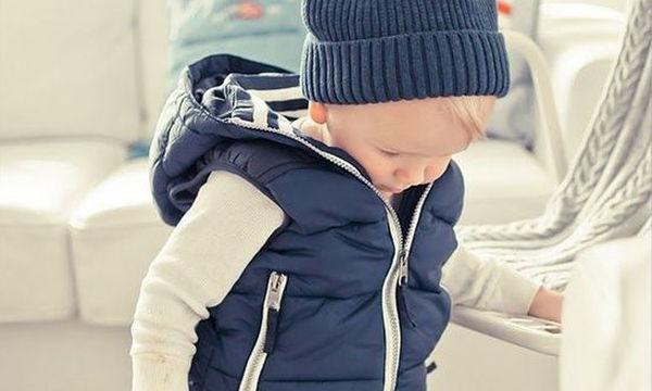 Αμάνικο παιδικό μπουφάν με κουκούλα - Κατάλληλο για όλες τις εποχές
