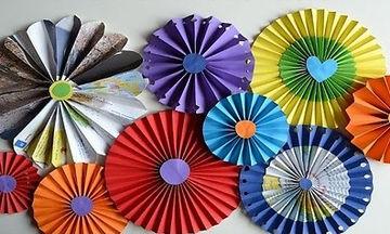Φτιάξτε πρωτότυπα διακοσμητικά για παιδικό πάρτυ με χαρτί (vid)