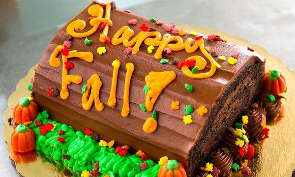 Παιδικές τούρτες εμπνευσμένες από το φθινόπωρο - Πάρτε ιδέες  (pics)