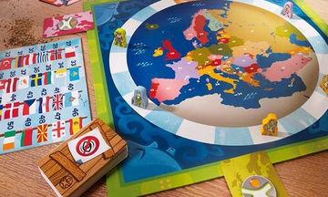 Επιτραπέζιο για να μάθουν τα παιδιά σας τις Xώρες της Ευρώπης
