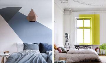 Color Blocking: Τολμήστε έντονα χρώματα στο υπνοδωμάτιο (pics)