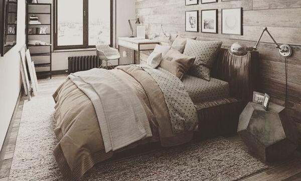 Μοντέρνες ιδέες για να διακοσμήσετε την κρεβατοκάμαρά σας στις αποχρώσεις του καφέ (pics&vid)
