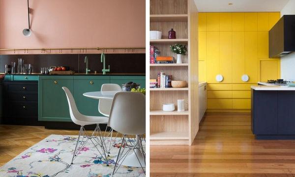 Deco: Τολμήστε έντονα και ζωηρά χρώματα στην κουζίνα σας (pics)