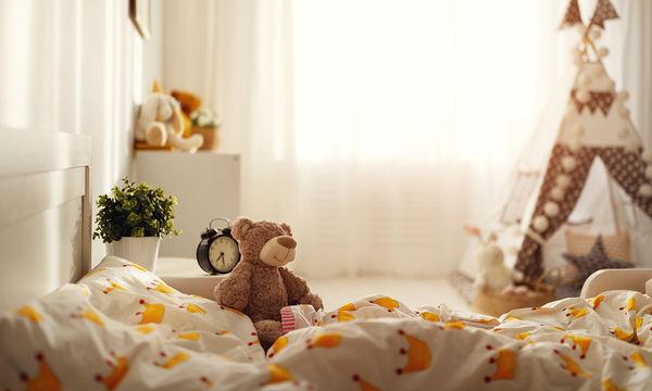 Διακοσμήστε το παιδικό δωμάτιο σε κίτρινο χρώμα (pics)
