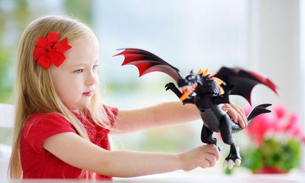 Τρελαίνονται τα παιδιά σας για δράκους; Για δείτε αυτό...