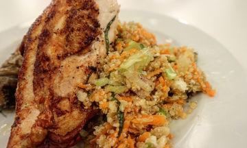 Συνταγή για πεντανόστιμο κοτόπουλο με κινόα