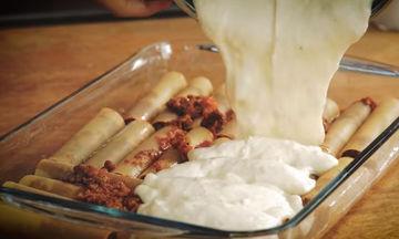 Κανελόνια με κιμά - Η απόλυτη συνταγή