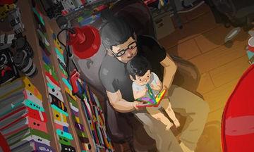 Μπαμπάς απεικονίζει σε τρυφερά σκίτσα τη ζωή με το παιδί του και μας συγκινεί (pics)