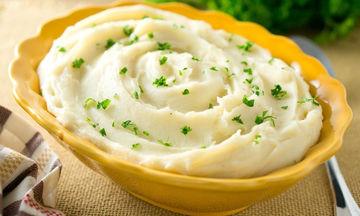 Ο πιο χορταστικός και υγιεινός πουρές πατάτας για κάθε φοιτητή
