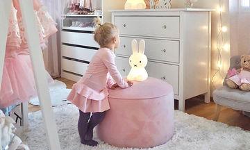 Ροζ κοριτσίστικο δωμάτιο: Επιλέξτε τις πιο φωτεινές αποχρώσεις του και απογειώστε το (pics)