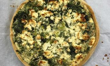 Συνταγή για νόστιμη τάρτα με σπανάκι και πατάτες