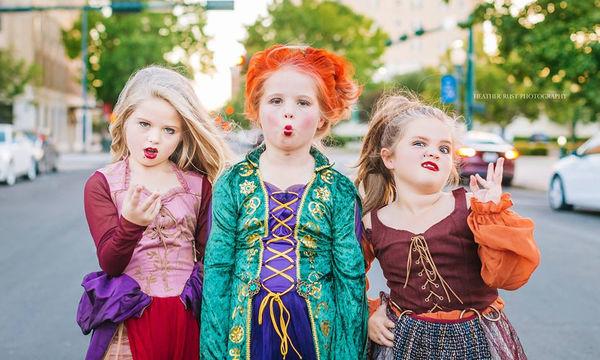 Αυτά τα κορίτσια μεταμφιέστηκαν στις πρωταγωνίστριες του Hocus Pocus και μας άφησαν άφωνους (pics)