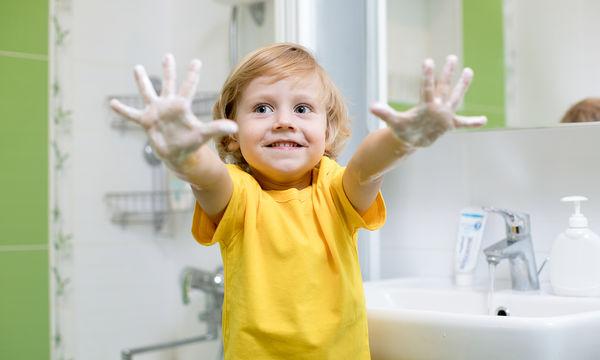 Γιατί είναι σημαντικό να μάθουν τα παιδιά να πλένουν σωστά τα χέρια τους