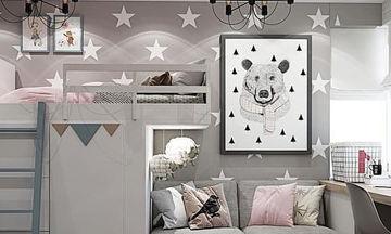 Είκοσι ιδέες διακόσμησης για τους τοίχους του παιδικού δωματίου (pics)