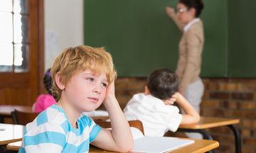 8 απλοί λόγοι που μπορεί να ευθύνονται για τη δυσκολία του παιδιού να συγκεντρώνεται στο σχολείο