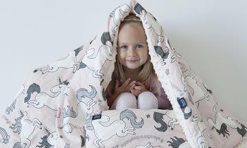Χειμερινή, ζεστή και μαλακή κουβερτούλα για κάθε παιδάκι