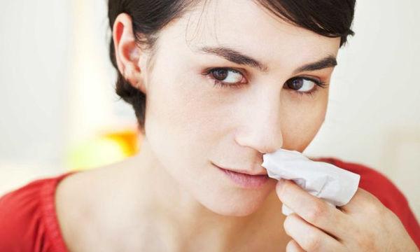 Γιατί ξαφνικά αιμορραγεί η μύτη μας;