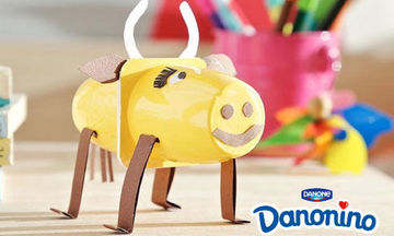 Φτιάχνουμε μία αγελάδα με το Danonino