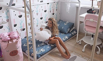 Δεκαπέντε ξεχωριστές ιδέες για δωμάτιο κοριτσιού πάνω από 10 ετών (pics)