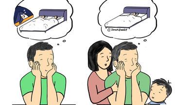 Η καθημερινότητα με ένα νήπιο μέσα από τα μάτια ενός μπαμπά (pics)