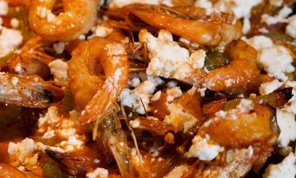 Συνταγή για πεντανόστιμες γαρίδες σαγανάκι