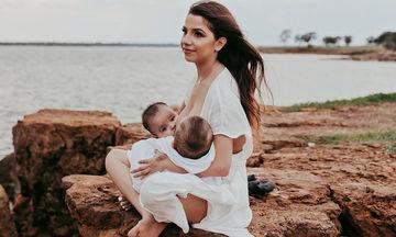 Ο θηλασμός διδύμων μέσα από φωτογραφίες