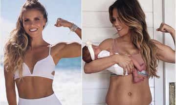 Katrina Scott: Μας δείχνει τη νέα της «υπερδύναμη»... το σώμα της μετά τη γέννα (pics)