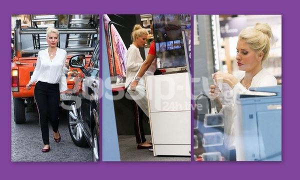Ελένη Μενεγάκη: Για ψώνια στην Κηφισιά!